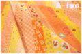 Bias Ribbon オレンジ AT829637-C (約110cm幅×50cm)