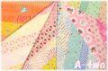 Bias Ribbon ミニカット6枚セット AT829637 (1枚の大きさ約33cm×36cm)