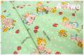 Happy Hands Run Run Girls ミント AT829638-D (約110cm幅×50cm)