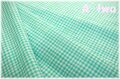 MICAEL MILLER GINGHAM PLAY CX7161-AQUA (約110cm幅×50cm)