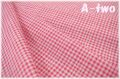 MICAEL MILLER GINGHAM PLAY CX7161-PINK (約110cm幅×50cm)