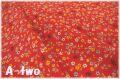 MICAEL MILLER Favorite Flower レッド CX9495-REDX (約110cm幅×50cm)