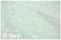 ダブルガーゼ Homey Baby 恐竜 ミント GH10234S-B (約110cm幅×50cm)