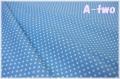 Happy Sweet Collection ミニドット ブルー HS1283-13 (約110cm幅×50cm)