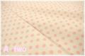 KEI FABRIC ドット 生成り×ピンク KF6035-B (約110cm幅×50cm)