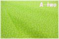 KEI FABRIC ミニミニフラワー グリーン KF6043-D (約110cm幅×50cm)
