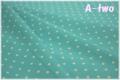 sugar dew dot エメラルド KFNBF10-C (約110cm幅×50cm)