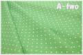 sugar dew dot グリーン KFNBF10-G (約110cm幅×50cm)