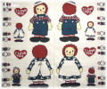 RAGGEDY ANN & ANDY cut it out