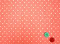 sugar dew dot  ピンク (約50cm×110cm巾)