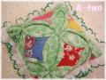 カテドラルウィンドウのピンクッション グリーン