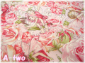 FLOWER FAIRIES ROSE DC4220 レッド (約110cm幅×50cm)