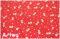 STORYBOOK CLASSICS PLAYTIME ドット&フラワー レッド 39310-4 (約110cm幅×50cm)
