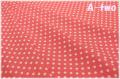 MARCUS Fabrics Aunt Grace's Dots ピンク 5363-0326 (約110cm幅×50cm)