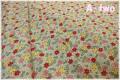 MARCUS Fabrics Aunt Grace Miniatures II カラフルフラワー 生成り×グリーン 8050-0366 (約110cm幅×50cm)