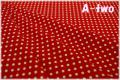 MARCUS Fabrics Aunt Grace's Dots レッド 5363-0311 (約110cm幅×50cm)