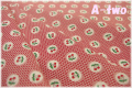 MARCUS Fabrics Aunt Grace チェリー レッド 6263-0311 (約110cm幅×50cm)