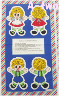 Washington Street Studio HOLLY'S DOLLIES パネル 00600-MU 1R(約110cm幅×60cm)