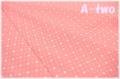 Robert Kaufman NAPTIME3 ドット CAMELLIA 17549-122 (約110cm幅×50cm)