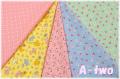 Robert Kaufman NAPTIME3 ミニカット5枚セット 17544 17545 17547 17549 (1枚の大きさ約33cm×36cm)