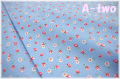 Robert Kaufman NAPTIME3 フラワー LAKE 17547-73 (約110cm幅×50cm)