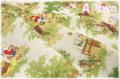 WINDHAM FABRICS LITTLE RED RIDING HOOD 森 生成り 50297-X (約110cm幅×50cm)