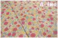 【少々難あり50%OFF】 YUWA ローン ガーデン レッド・イエロー (約110cm幅×50cm) 【ポイント還元対象外】