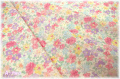 YUWA ローン カラフルフラワー 612656A (約110cm幅×50cm)