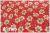 LECIEN Retro 30's Child Smile ブーケ レッド 35061-30 (約110cm幅×50cm)
