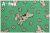 LECIEN Retro 30's Child Smile ドッグ エメラルド 35063-60 (約110cm幅×50cm)