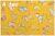 LECIEN Retro 30's Child Smile サーカス イエロー 35064-50 (約110cm幅×50cm)