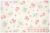 ダブルガーゼ 30'sストロベリー 生成り×ピンク AT916575-A (約110cm幅×1m) 【おひとり様2mまで】