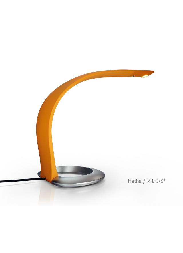 ハタ・テーブルランプ〈オレンジ〉