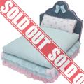 Louisdog(ルイスドッグ)Rosy Bed Blue Stripe ロージー ラグジュアリー ベッド セット☆☆完売しました☆☆