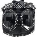 Doggie Design(ドギーデザイン)American River Harness Black White アメリカン リバー ハーネス ブラック ホワイト ポルカドット