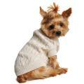 Doggie Design(ドギーデザイン)ドッグウェア コムド コットン ケーブル ニット セーター オートミール