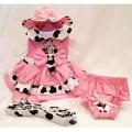 Platinum Puppy Couture(プラチナ パピー クチュール)Cupcake Cowgirl Harness Dog Dress カップケーキ カウガール ハーネス ドレス