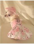 Platinum Puppy Couture(プラチナパピークチュール)ドッグウェア Posh Poodle Dog Harness Dress ポッシュ プードル ハーネス ドレス セット