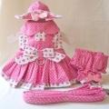 Platinum Puppy Couture(プラチナ パピー クチュール)Strawberry Patch Harness Dress ストロベリー パッチ ハーネス ドレス