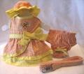 Abby&AdelaSelect(プラチナ)サンシャイン ガール ハーネス ドレス セット