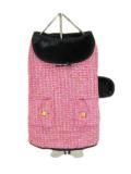 犬服 【NEW YORK DOG】(ニューヨークドッグ)Pink Boucle Coat 14インチ