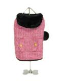犬服 【NEW YORK DOG】(ニューヨークドッグ)Pink Boucle Coat ピンク 12インチ