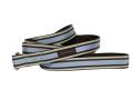 Trish Hampton(トリッシュハンプトン)Chocolate/Periwinkle Stripe チョコレート ペリウィンクル ストライプ リード