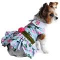 Doggie Design(ドギーデザイン)ドッグウェア Pink Rose Harness Dress ピンク ローズ ハーネス ドレス