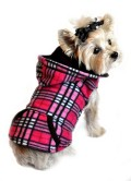 Doggie Design(ドギーデザイン)Raspberry Pink Plaid Reversible Vest ラズベリー ピンク プレイド リバーシブル ベスト
