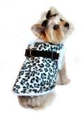Doggie Design(ドギーデザイン)Snow Leopard Step In Wrap Coat スノー レオパード ラップ コート