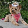 Doggie Design(ドギーデザイン)American River Ultra Harness Honeysuckle Pink アメリカン リバー ウルトラ ハーネス ハニーサックル