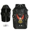 Doggie Design(ドギーデザイン)Born To Ride Motorcycle Harness Jacket ブラック ライド モーターサイクル ジャケット
