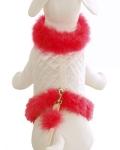 Cha-Cha Couture(チャチャクチュール)Fashion Diva White Hot Pink ディーヴァ ファッション ハーネス ベスト