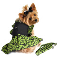 Doggie Design(ドギーデザイン)Green Leaf Garden Party Dog Dress グリーン リーフ ガーデン ドレス セット